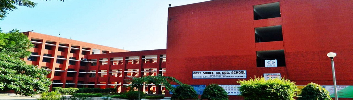 Welcome to Govt. Model Sr. Sec. School Sec 37-D, Chandigarh